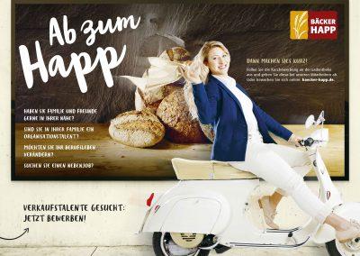 Bäcker Happ | Fulda-Neuhof | Werbekampagne