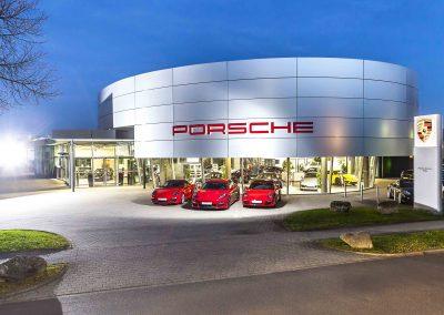 Porsche Zentrum | Fulda | Aussenaufnahme