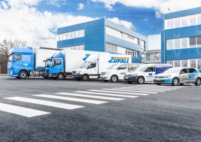 Zufall Logistics Group   Fulda Göttingen   Fuhrparkportrait